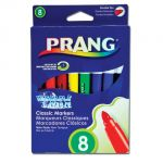 Prang® Art Markers, Washable, 8 colors