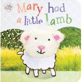 Finger Puppet Board Books, Mary Had a Little Lamb