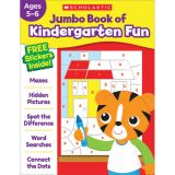 Jumbo Fun Workbooks, Kindergarten Fun