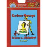 Carry Along Book & CD, Curious George® Learns the Alphabet