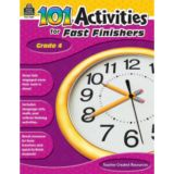 101 Activities for Fast Finishers, Grade 4