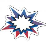 Super Power! Bursts Colorful Cut-Outs® Assorted Designs