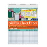 Heavy Duty Anchor Chart Paper, 1 Grid Ruled, 24 x 32