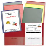 C-Line® Classroom Connector™ School-To-Home Folders, Assorted, Pack of 6