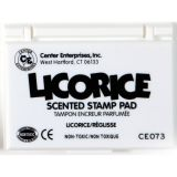 Scented Stamp Pad, Licorice/Black