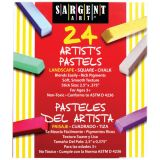 Sargent Art® Square Chalk Pastels, 24 landscape colors