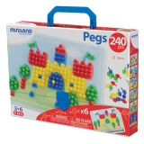 Primary Peg Sets, 3/8 Pegs, 240 pieces
