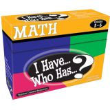 I Have...Who Has...? Math, Grades 5-6