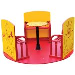Tiny Tots Spinner, Red & Yellow