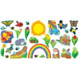 Spring Things Bulletin Board Set