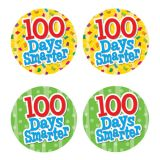 100 Days Smarter Wear 'Em Badges