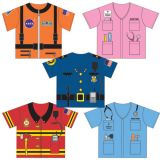 My 1st Career Gear for Toddlers, 5-Piece Set (tops only)