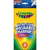 Crayola® Washable Thin-Line Markers, Bold Colors