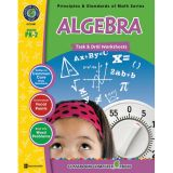 Principles & Standards of Math Task & Drill Worksheets, Algebra, Grades PreK-2
