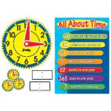 Judy® Clock Bulletin Board Set
