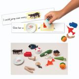 3-D Sight Word Sentences, Grade 1 Level Dolch Words