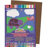 SunWorks® Construction Paper, 9 x 12, Dark Brown
