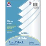 Pacon® Card Stock, White