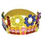 100 Days Paper Crowns