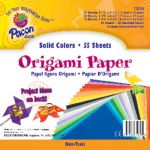 Origami Paper, Assorted sizes up to 9 3/4