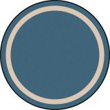 Portrait™ Rug, 7'7 Round, Seaside
