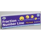 Fraction Number Line Flip Book