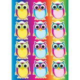 Die-Cut Magnets, Colorful Owls
