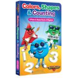 Rock 'N Learn® Colors, Shapes, & Counting Board Book