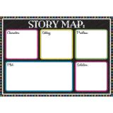 Magnetic Classroom Charts, Story Map Advanced