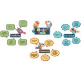 Math Talk Mini Bulletin Board Set