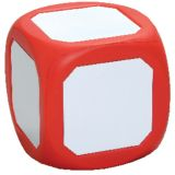 Magnetic Write-On Wipe-Off Die, Red