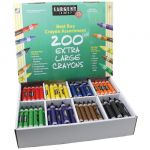 Sargent Art® Best-Buy Extra Large-Size Crayon Assortment, 200 Count