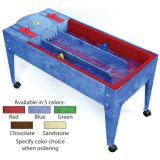 Wave Rave™ Activity Center with Sand & Water Table, Blue