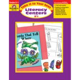 Take It to Your Seat Literacy Centers, Grades K-1