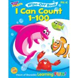 Wipe-Off® Book, I Can Count 1-100