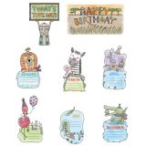 Safari Friends Happy Birthday Mini Bulletin Board Set