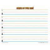 Superhero Smart Start Handwriting Series, Writing Paper, Grades K-1, 100 sheets