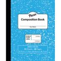Marble Composition Book, Grade 2, Blue, 3/4 Ruled w/Red Baseline