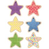 Upcycle Style 10 Designer Cut-Outs, Stars