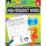 180 Days of High-Frequency Words, Grade K