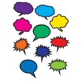 Superhero Colorful Speech/Thought Bubbles Accents
