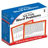 CenterSOLUTIONS™ Task Cards: Word Problems, Grade 5