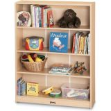 Bookcase with 3 Adjustable Shelves, 48H, Ready-to-Assemble
