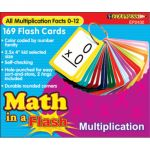 Math in a Flash™ Flash Cards, Multiplication