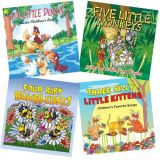 Singable Songs CD Set, Set of 4 CDs