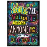 You ARE Valuable. Don't Let... ARGUS® Poster