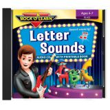 Rock 'N Learn® Letter Sounds Audio CD