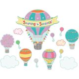 Up and Away Soaring to Success! Bulletin Board Set