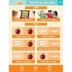 Link4Fun® Cards, Fruits & Vegetables