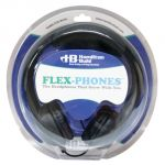 Flex-Phones™ Indestructible Foam Headphones, Black